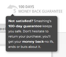 Smashing Shop web tooltip design example