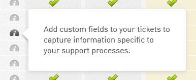 Zendesk web tooltip design example