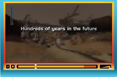 Play THQ web video player design example