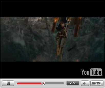YouTube web video player design