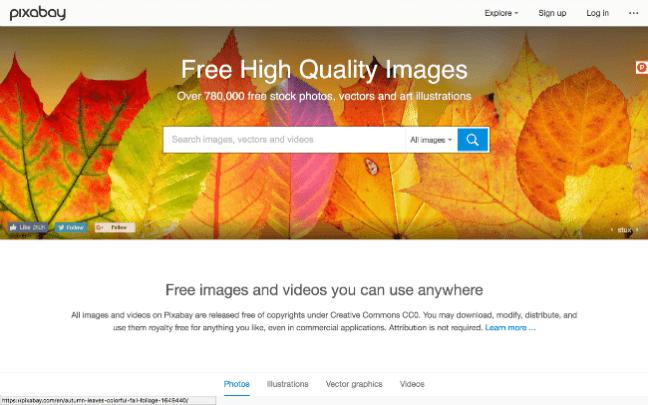 Pixabay free stock photos website