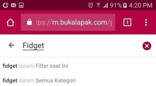 Bukalapak clear search button