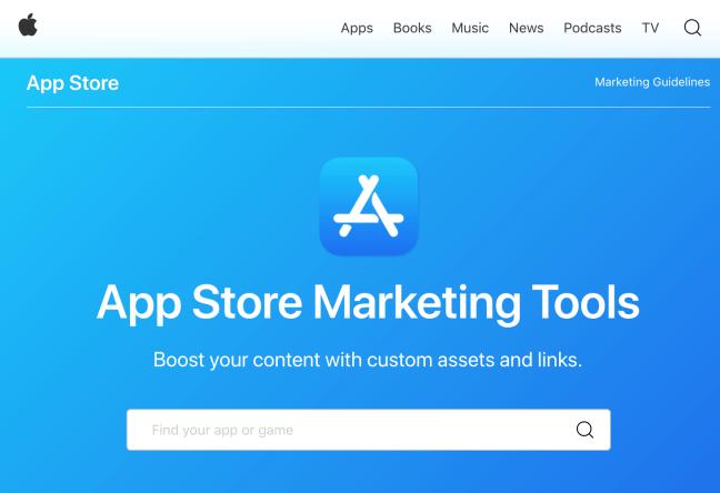 App Store Marketing Tools screenshot