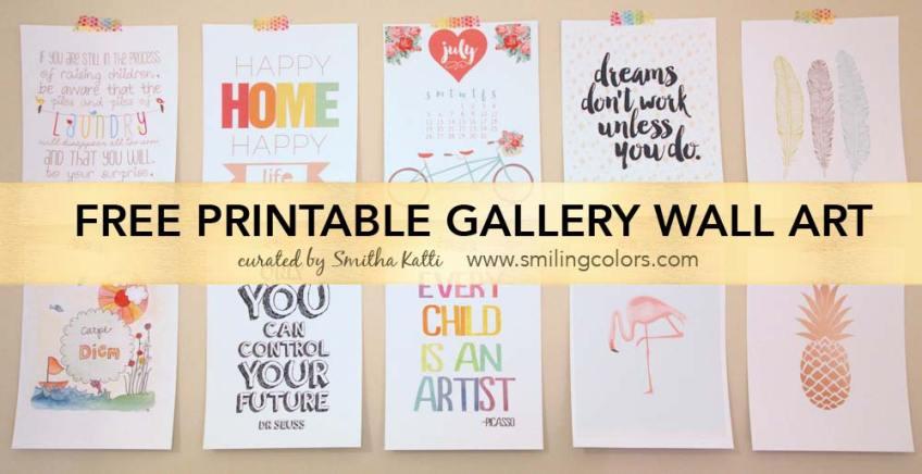 PrintableGalleryWall