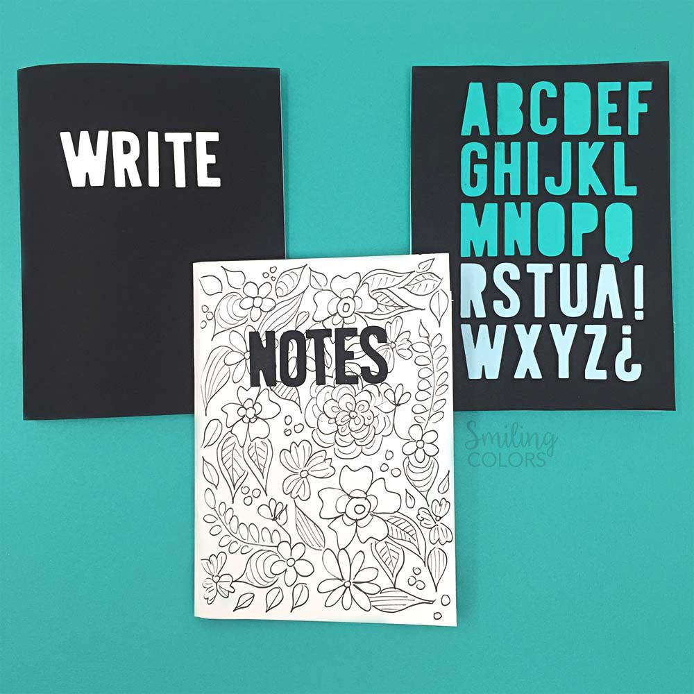 notebook to watch school for covers back your decor ideas easy diy decorate