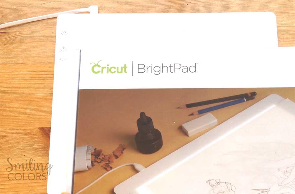 State Art using Cricut Bright Pad