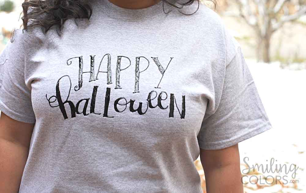 once you learn lettering on fabric with fabric paint you could also make these t shirts as gifts for your family and friends the holiday gift giving season