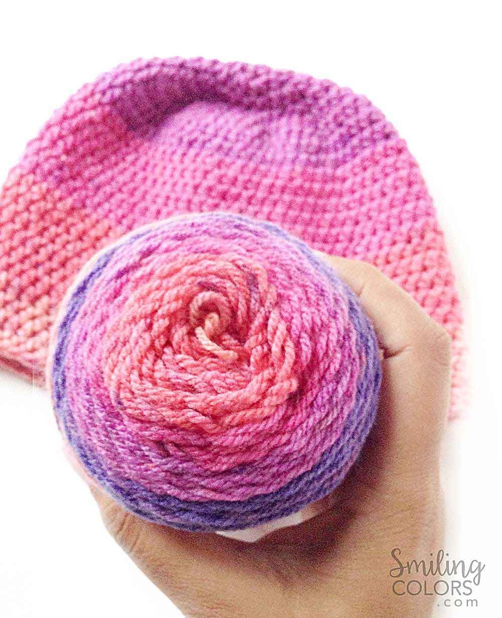 Caron cupcakes crochet hat smiling colors simple caron cupcakes crochet hat bankloansurffo Images