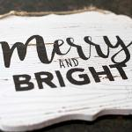 DIY hand lettered wood sign with easy how to video