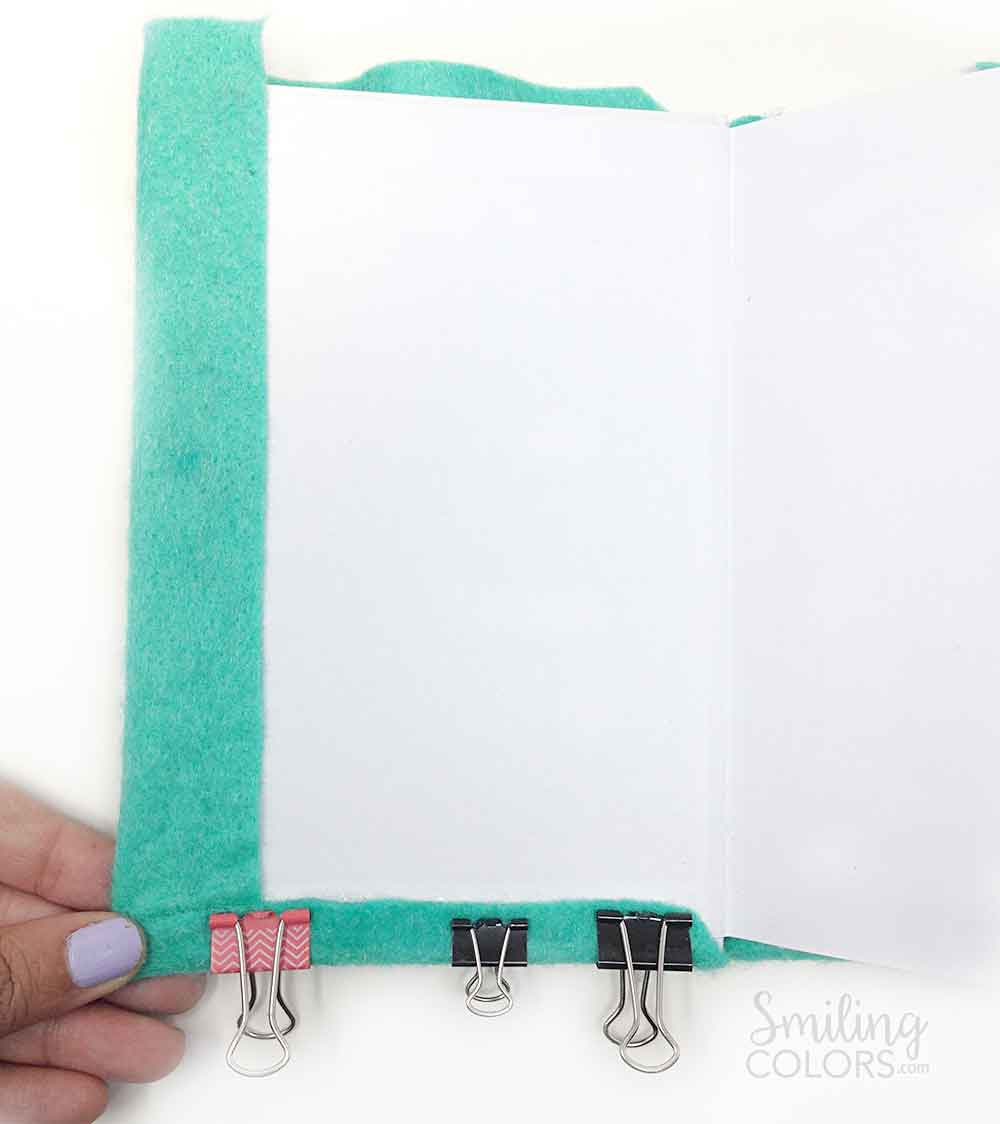 Diy Unicorn Book Cover : Unicorn notebook tutorial an easy beginner felt and glue