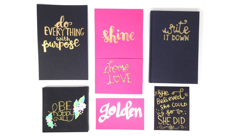 Smitha Katti golden hand lettering