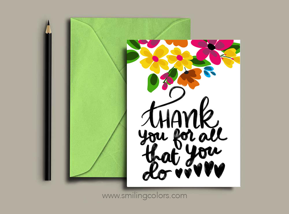 This is an image of Free Printable Cards for Teachers intended for appreciation