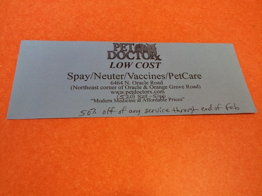 Vet Care Coupon