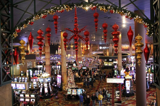 Inside the casinos
