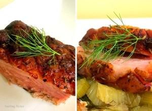 slow roasted pork loin