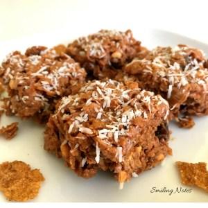 peanut butter cereal bar