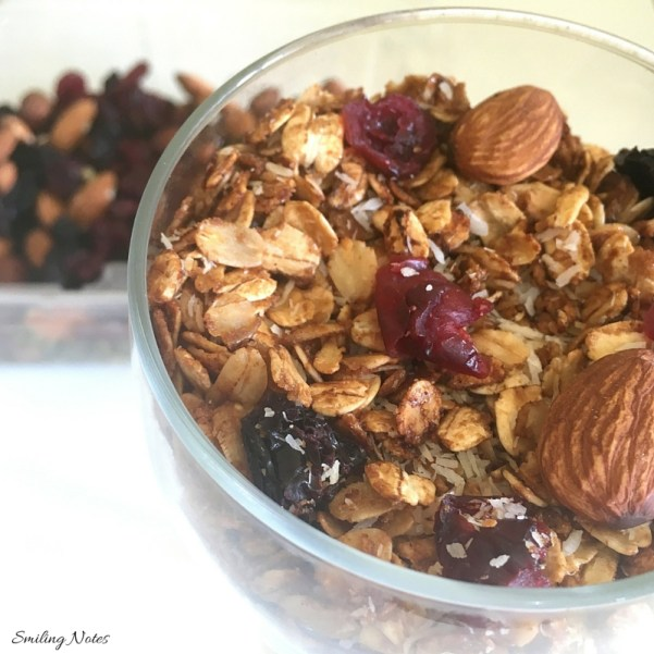 easy homemade stovetop granola