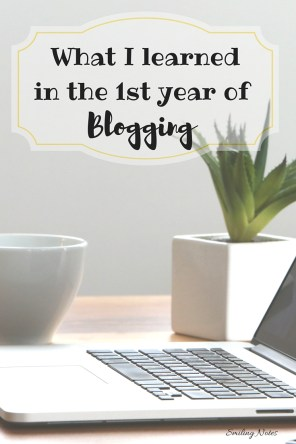 Lessons learned in first year of blogging - I have been blogging for a year now and here are the top 7 things that I learnt from Blogging including tips, tricks and strategies that can help you become a better blogger