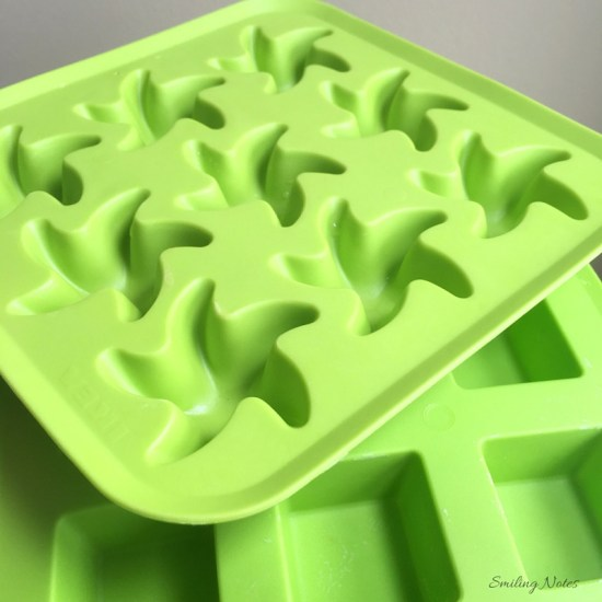 Silicon molds from Ikea
