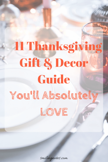 11 Thanksgiving Gift and Decor Guide You'll absolutely Love