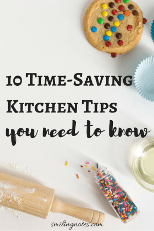 10 Time-Saving Kitchen Hacks you need to know