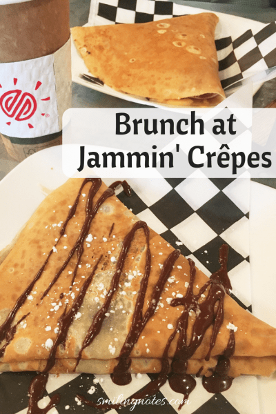 Brunch at Jammin' Crepes, Princeton NJ