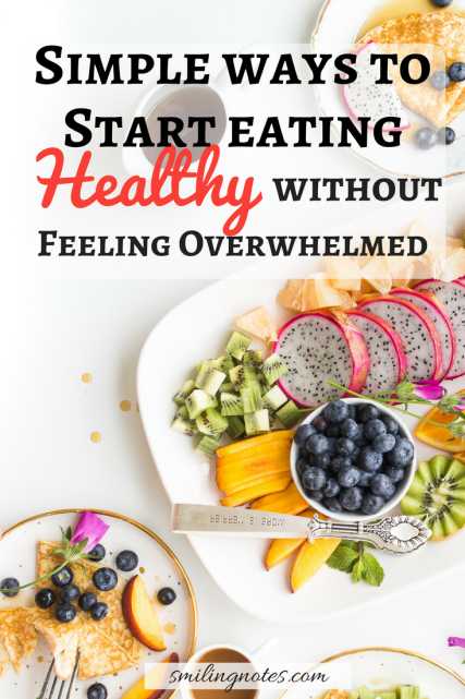 How to Start Eating healthy right now successfully