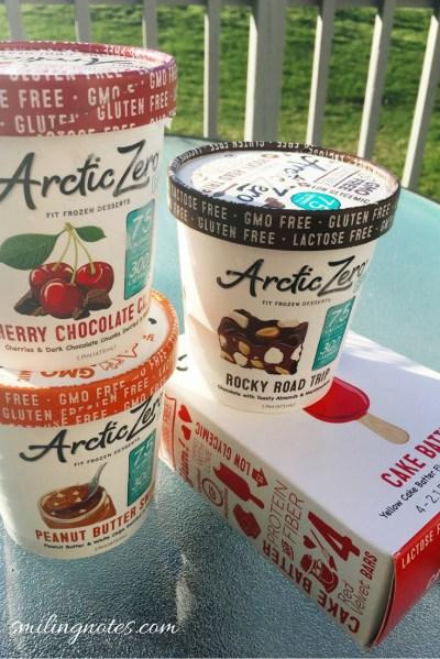 arctic zero fit frozen desserts