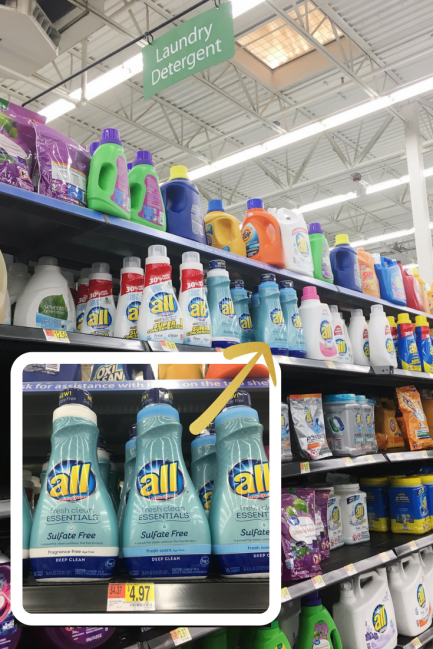 All Sulfate-free available at Walmart #shop