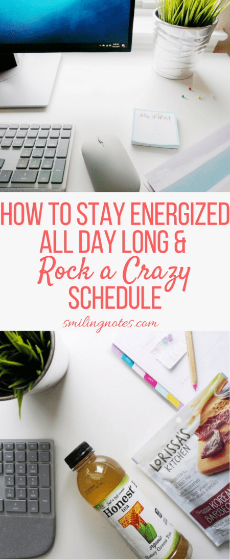How to Stay Energized All Day Long and Rock a Crazy Schedule - Do you sometimes feel that your day has just begun but you are already out of energy? Here are a few tips that can help you stay energized all day long and rock even a crazy schedule. #SnackHonestly #CollectiveBias #ad