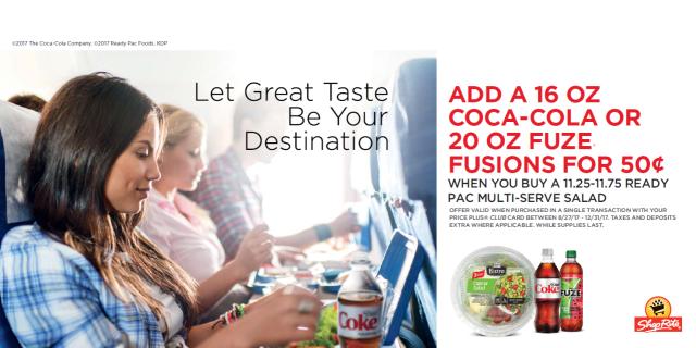 coca-cola meals at shoprite deals #ad