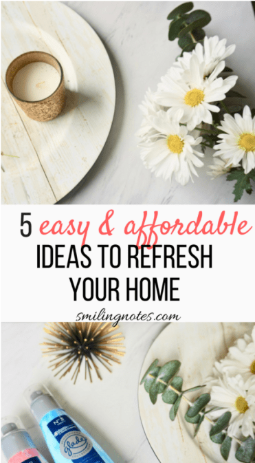 affordable ways to refresh home
