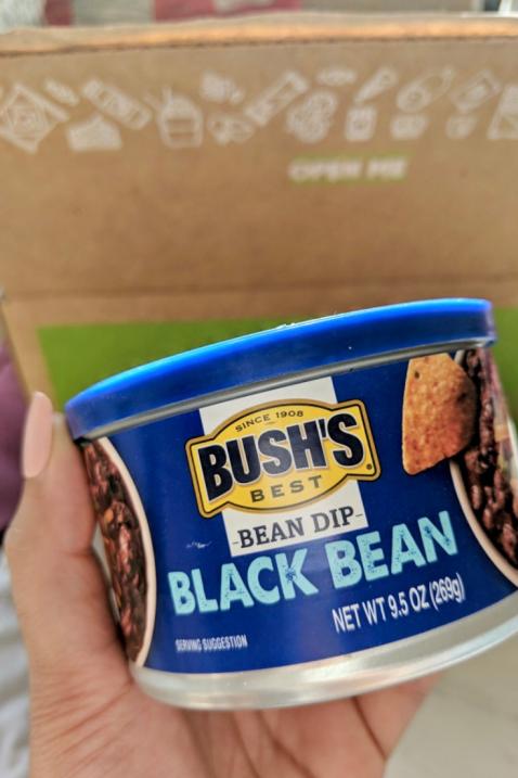 bush black bean dip