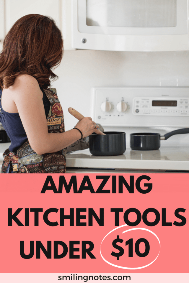 Check out these must-have kitchen gadgets that are versatile, time-saving and the best part about them is that all of them are under $10.