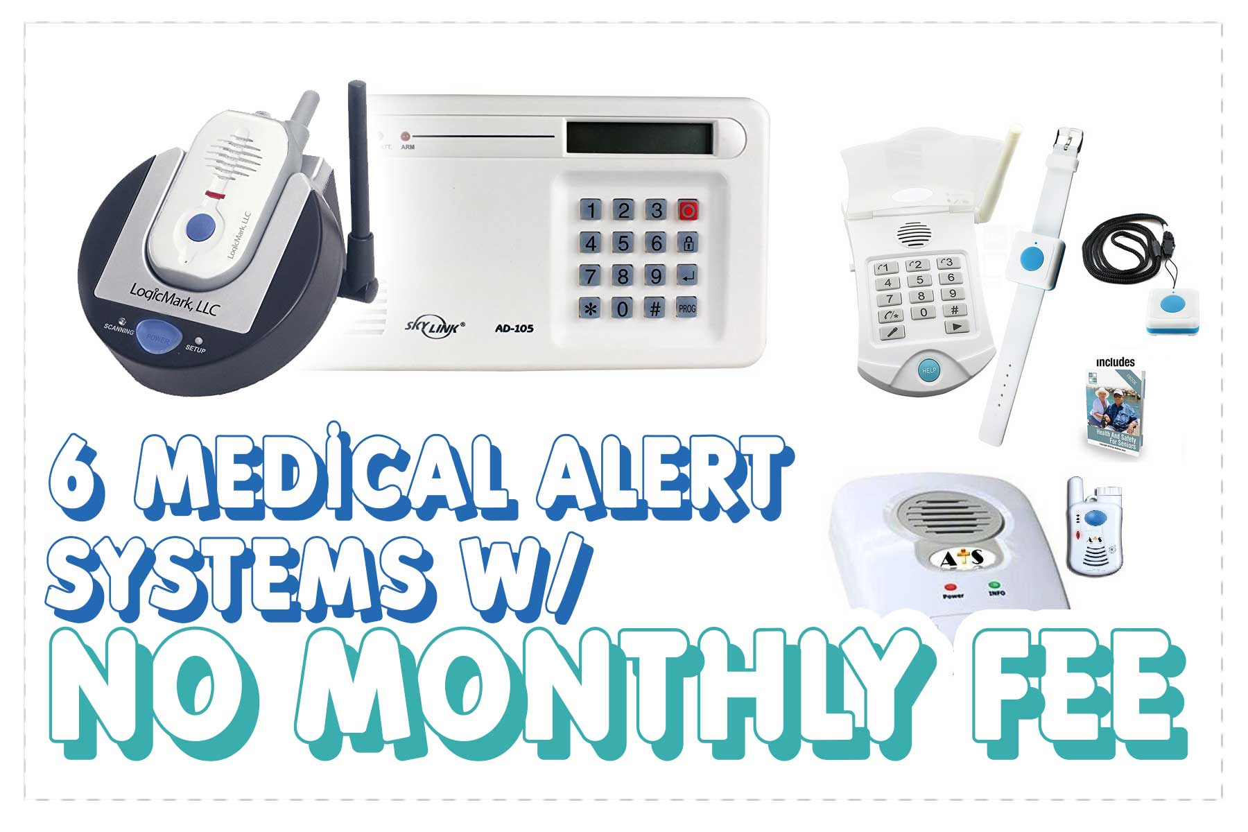 EMERGENCY PHONE DIALER 911 LIFE LINE ALERT MEDICAL SYSTEM -NO MONTHLY FEES-