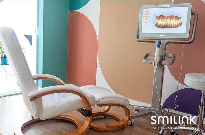 tecnologia 3D no tratamento com aparelho invisível