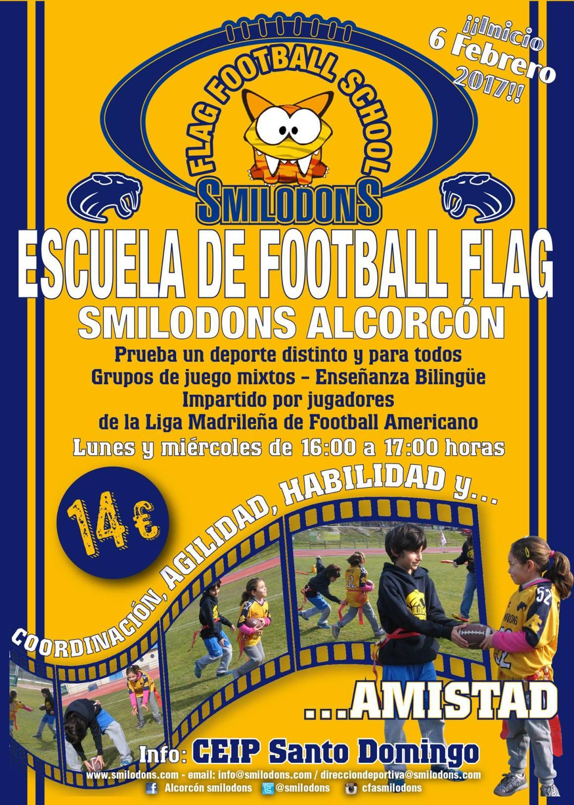 Escuela de Flag Football Alcorcón Smilodons