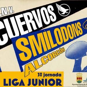Smilodons Jr. vs Cuervos Jr.
