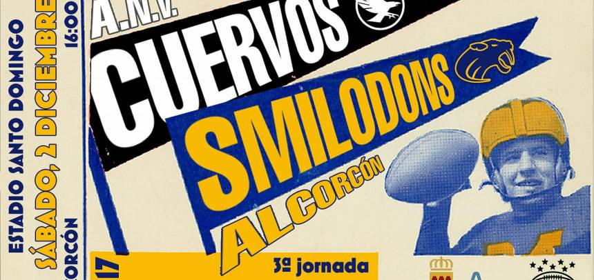 Smilodons Jr. vs Cuervos Jr.