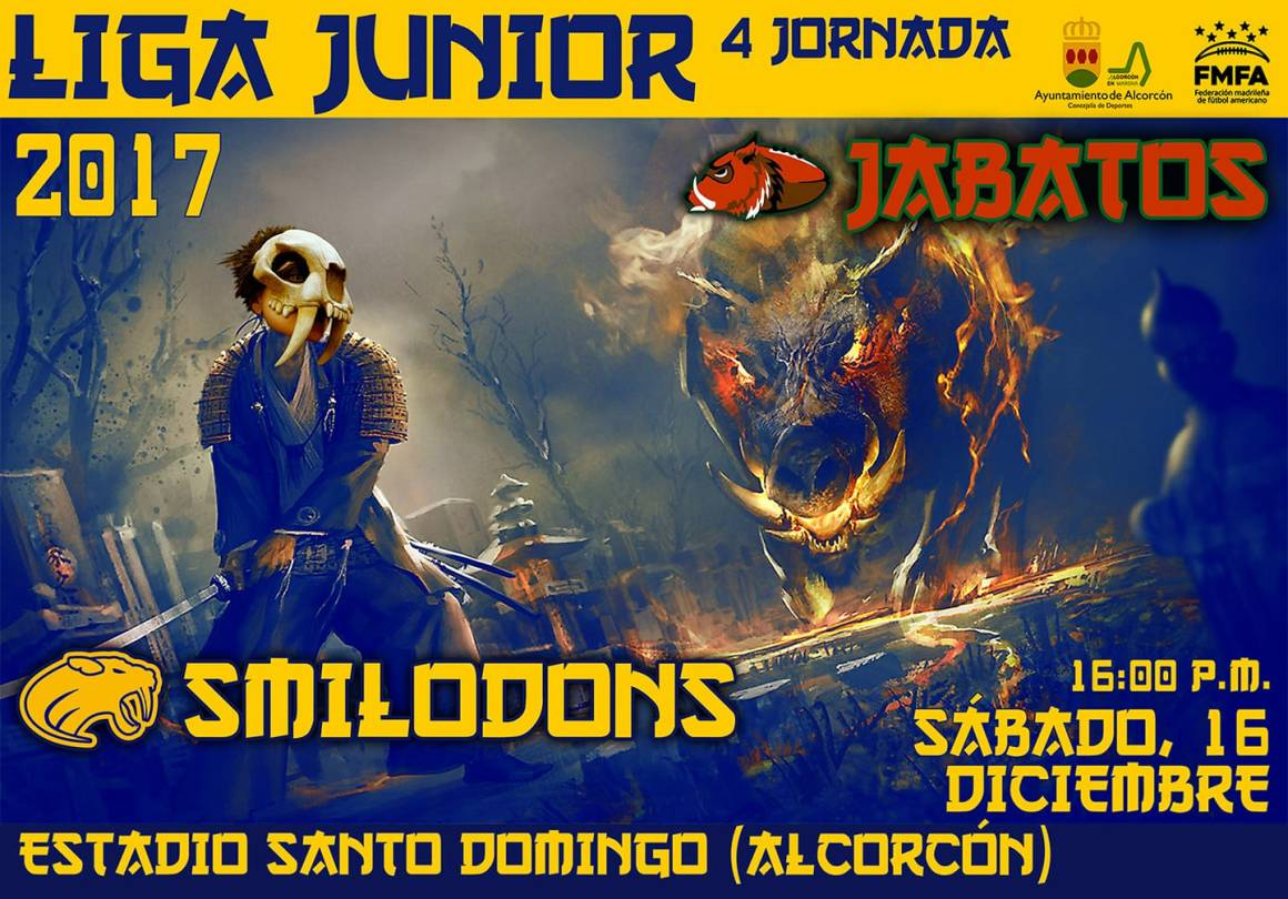 Smilodons Jr. vs Jabatos Jr.