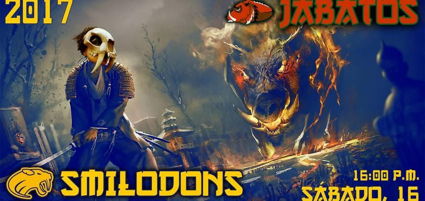 Smilodons Jr. vs Jabatos Jr.