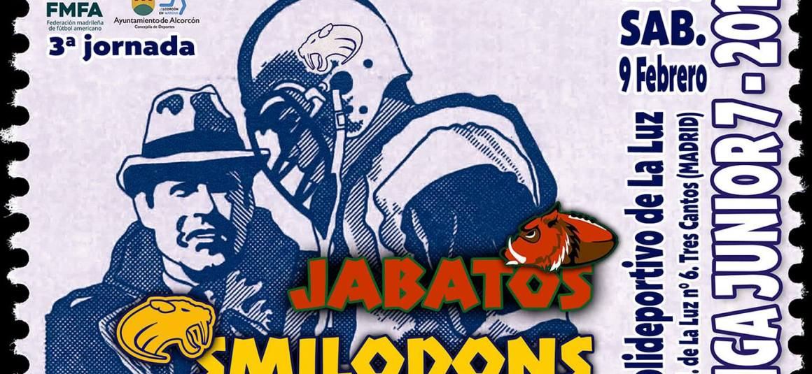 [LMFA Junior 7] Jabatos Tres Cantos vs Alcorcón Smilodons