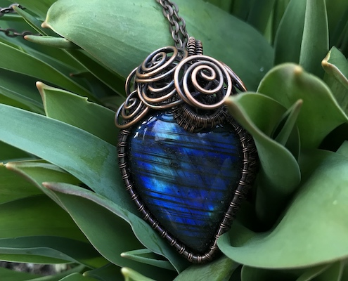 Wire wrapping Smilow forside