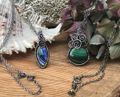 Wire wrapping smykker Smilow