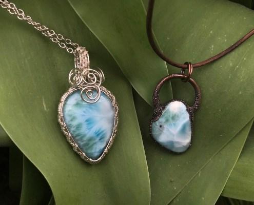Larimar smykker