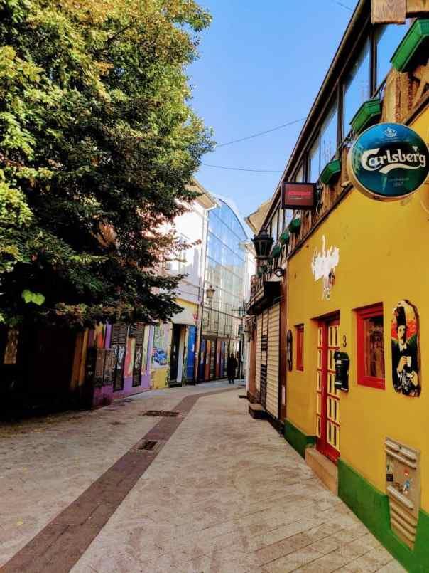 3 days in Belgrade streets of Novi Sad
