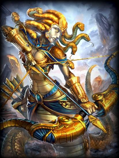 Medusa gold