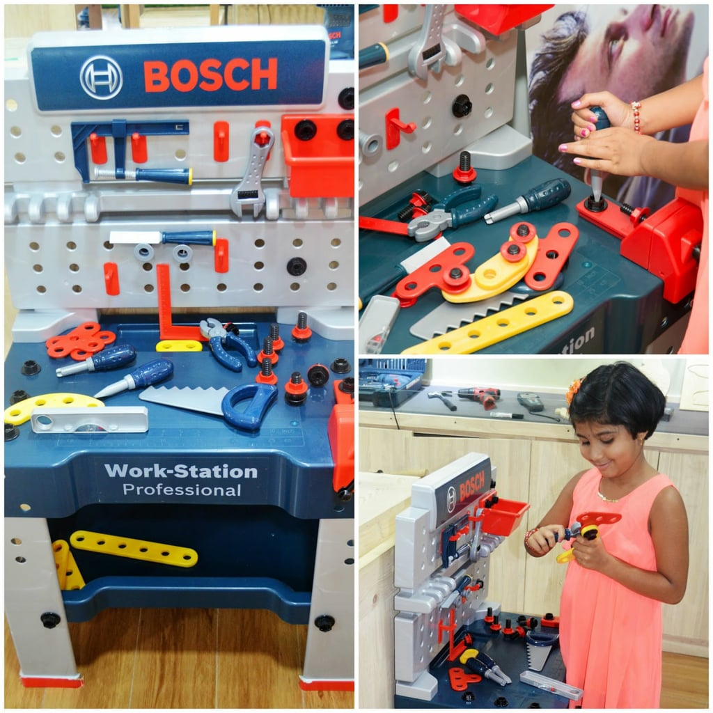 Memorable time spent at bosch diy squarebangalore a review they had a kids work station too with toy screwdrivernutsdrill gunsaw etc and suchetha loved playing with it bosch intends to incorporate do it yourself solutioingenieria Gallery