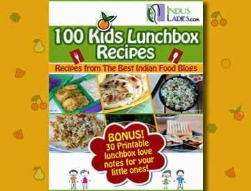 Indus ladies kids lunch box ideas e book cook with smile community for indian women across the world have partnered with the best indian food blogs to put together 100 simple and easy kids lunch box recipes forumfinder Images