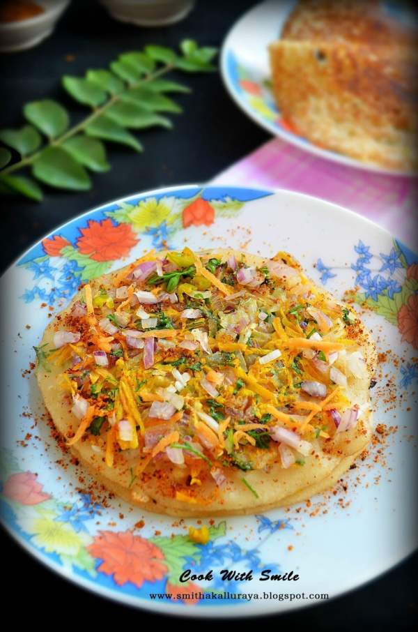 instant bread uthappam